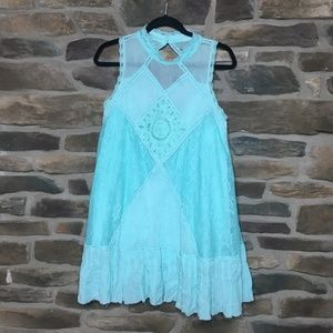 NWOT Free People Angel Lace Dress